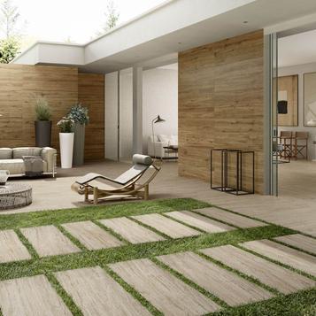 Beige Indoor and Outdoor Tiles Marazzi