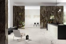 Marble effect porcelain stoneware: discover all the effects - Marazzi 7114