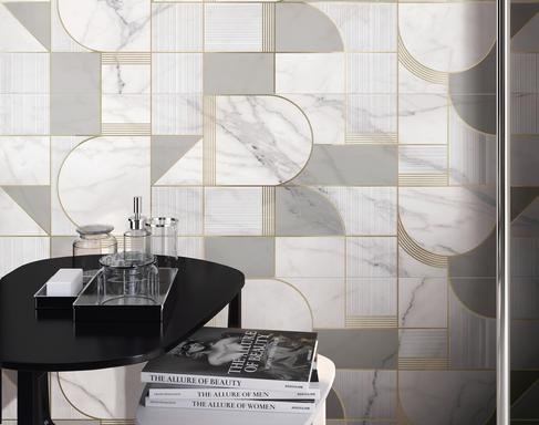 Marble effect ceramics: discover all the effects - Marazzi 10523