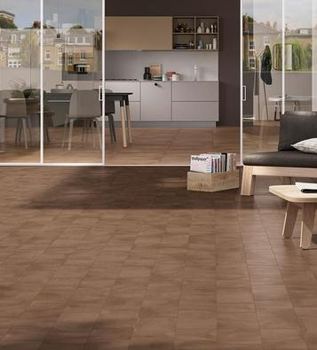 Tiles Brown Concrete Effect - Marazzi_708