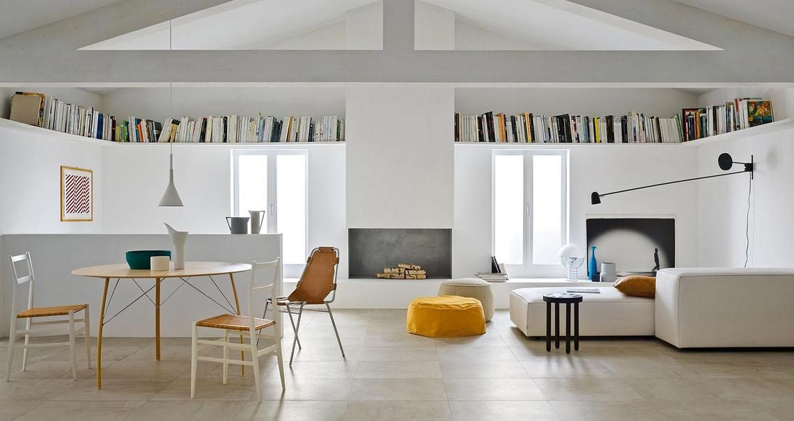 Blend satin stone effect flooring marazzi