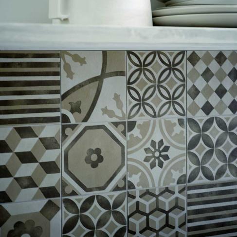 block porcelain stoneware flooring