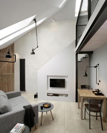 Tiles Living Room Concrete Effect - Marazzi_768