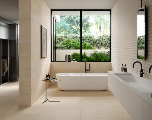 Bathroom tiles: ceramic and porcelain stoneware - Marazzi 11709