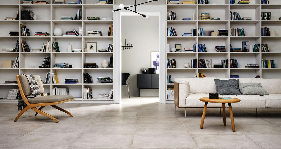 Clays - Concrete Effect - Living Room