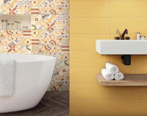 Yellow Tiles: view the collections - Marazzi 8994