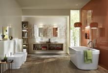 Orange tiles: view the collections - Marazzi 3767