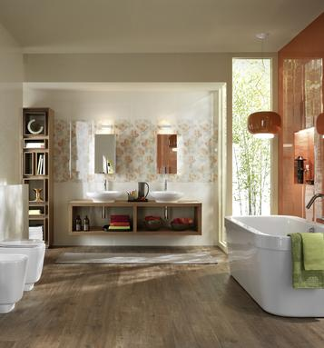 Colorup: Orange tiles: view the collections - Marazzi