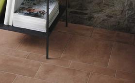 Concrete effect porcelain stoneware marazzi for Marazzi cotto d italia