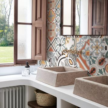 Red Bathroom Tiles Marazzi