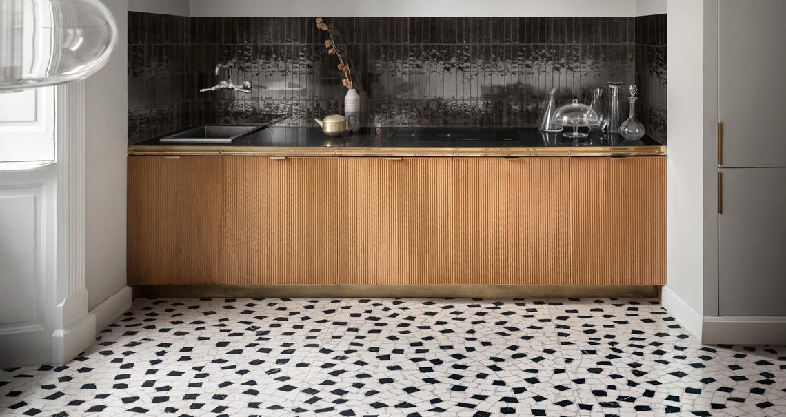 Black Tiles: view the collections - Marazzi 10327
