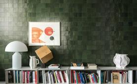 Green Tiles: view the collections - Marazzi 10203