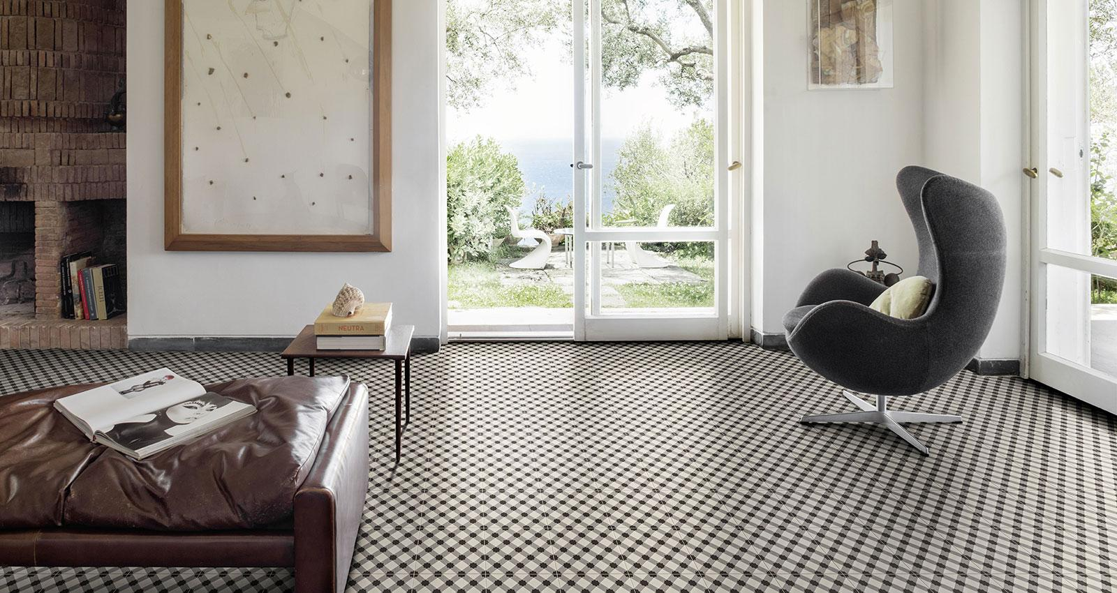 D Segni Collection Stoneware Handmade Cement Tiles Marazzi