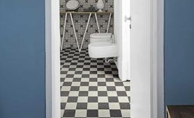 Bathroom tiles: ceramic and porcelain stoneware - Marazzi 9555