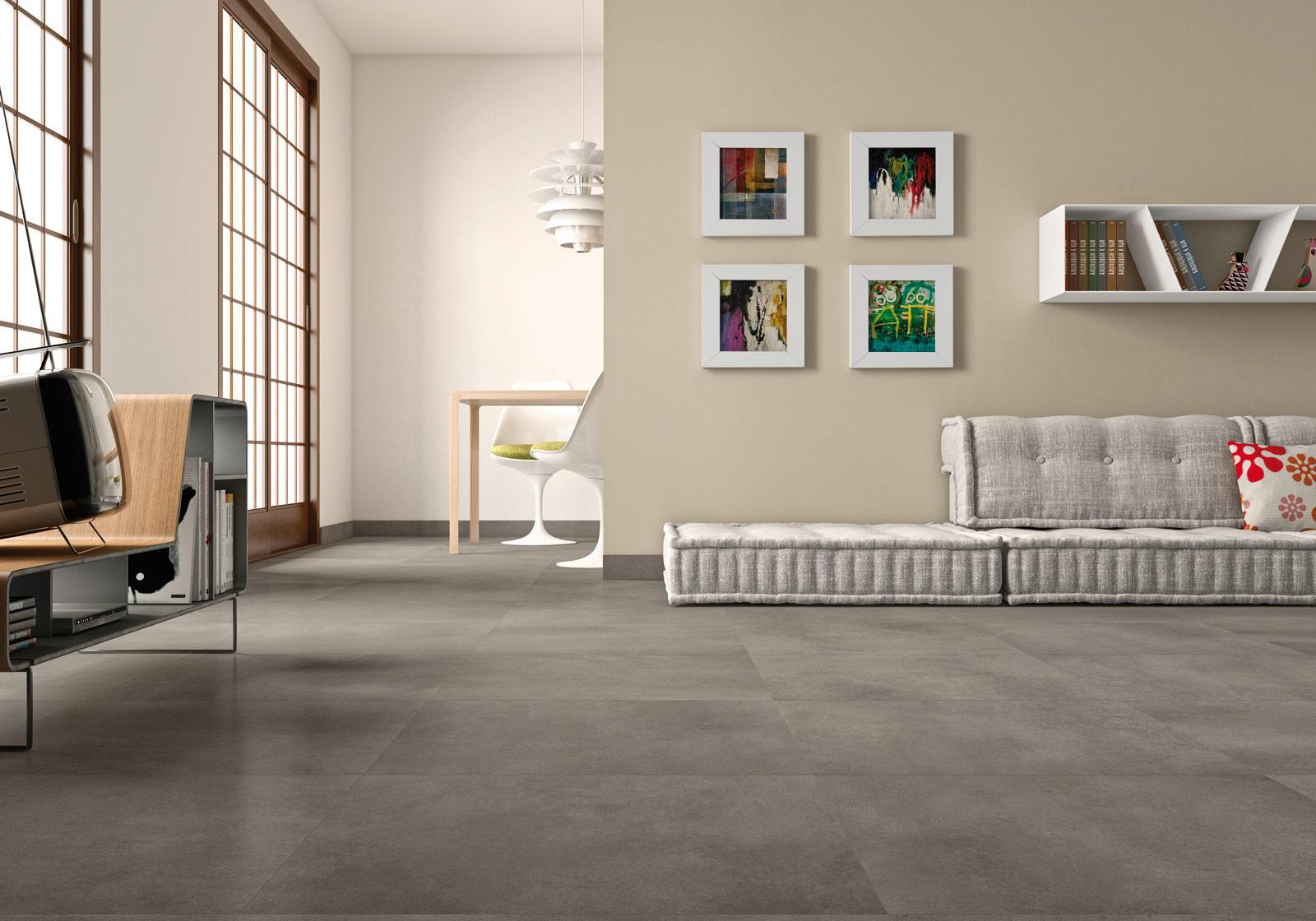 Denver indoor porcelain stoneware marazzi denver concrete effect living room dailygadgetfo Images