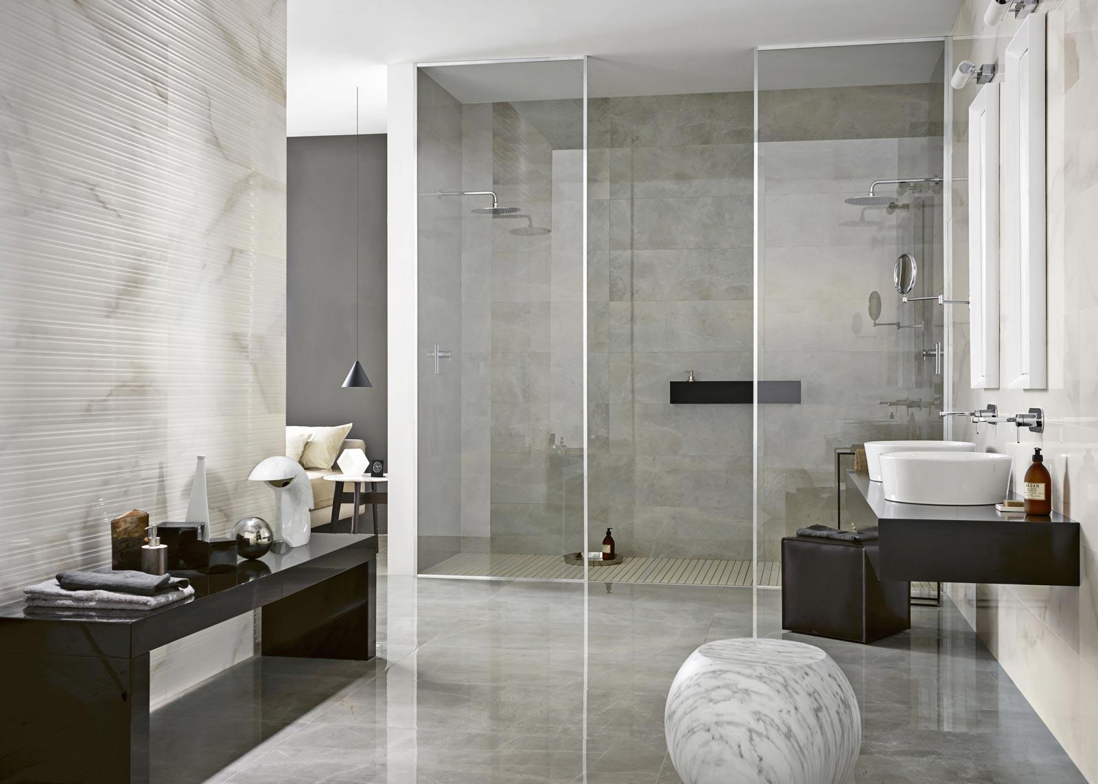 Evolutionmarble Wall   Marble Effect   Bathroom