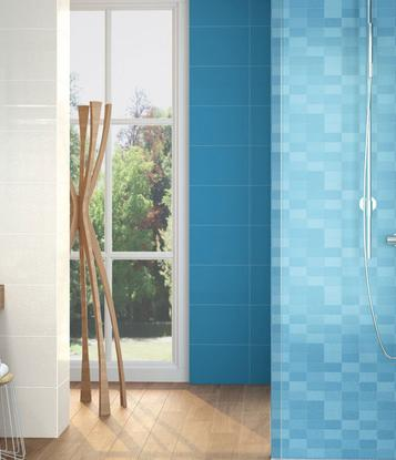 Fiesta: Azure tiles: view the collections - Marazzi