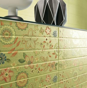 Folk: Green Tiles: view the collections - Marazzi