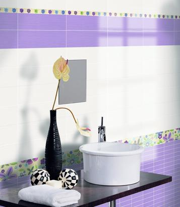 Fresh: Purple Tiles: view our collections - Marazzi