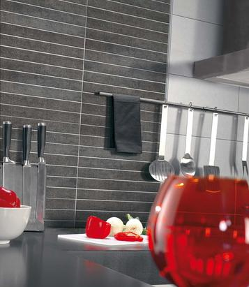 Gala: Black Tiles: view the collections - Marazzi