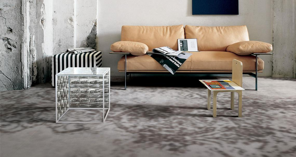 Grand carpet design cpv - Concrete Effect - Living Room