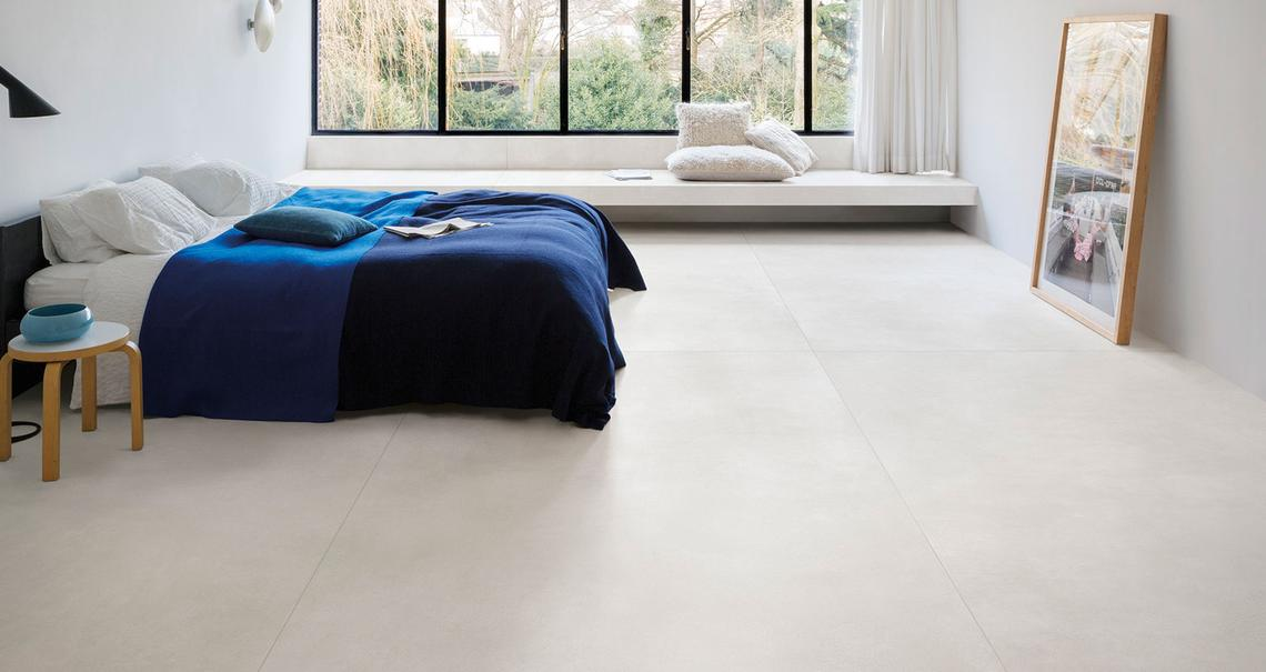 Grande concrete look - Concrete Effect - Bedroom