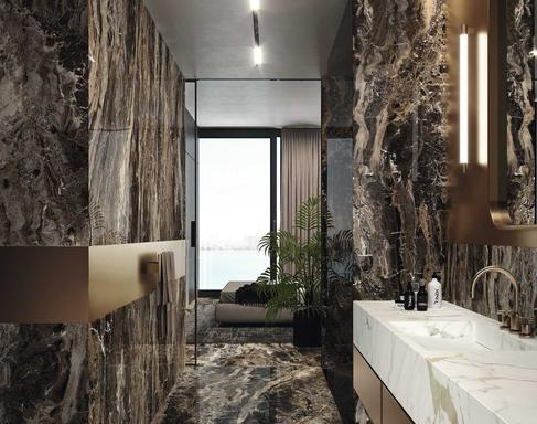 Brown Porcelain Stoneware View The