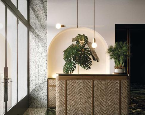 Green Tiles: view the collections - Marazzi 10537