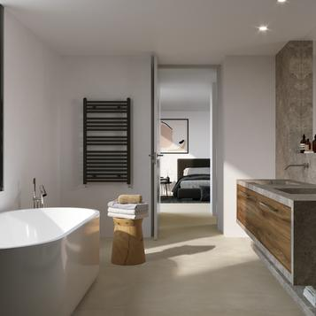 Concrete Effect Bathroom Tiles Marazzi