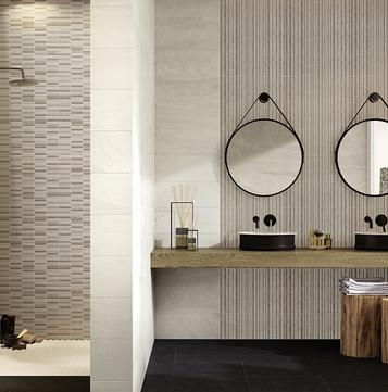 Interiors – ceramic wall coverings for the kitchen and bathroom