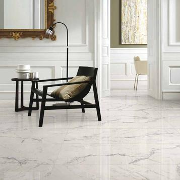 Delicieux Marble Effect Living Room Tiles | Marazzi