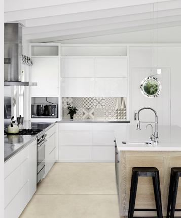 Material: Kitchen tiles: stoneware and porcelain ideas and solutions - Marazzi