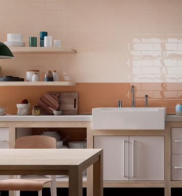 Mellow: Orange tiles: view the collections - Marazzi