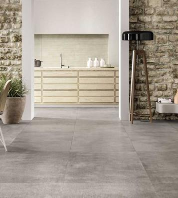 Tiles Living Room Concrete Effect - Marazzi_754