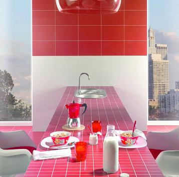 Minimal: Red Tiles: view the collections - Marazzi