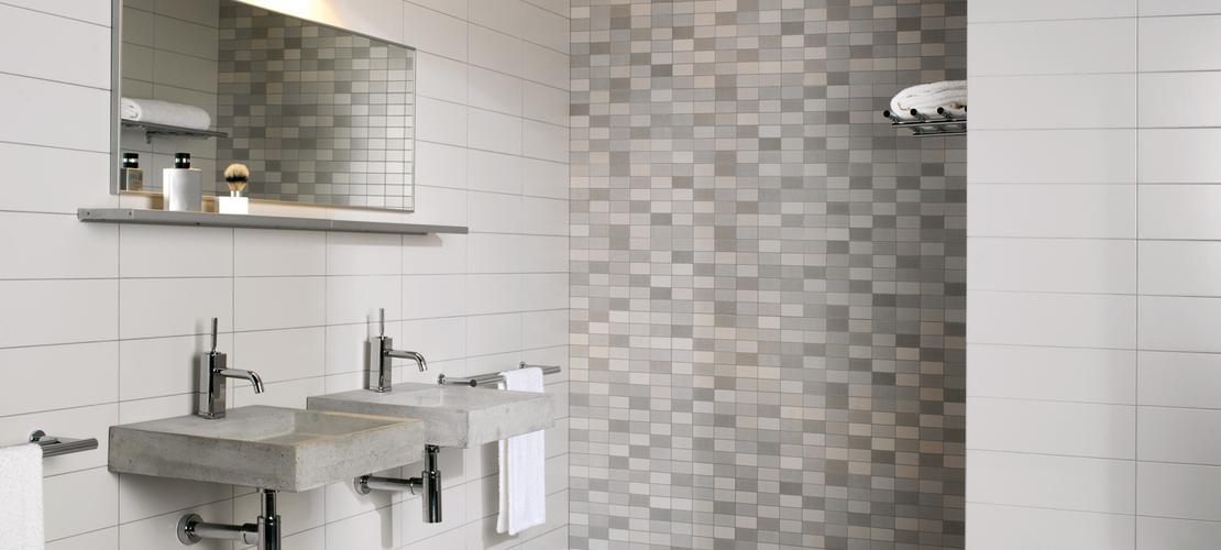 Piastrelle A Mosaico Per Bagno. Piastrelle Mosaico In Inox Cucina E ...