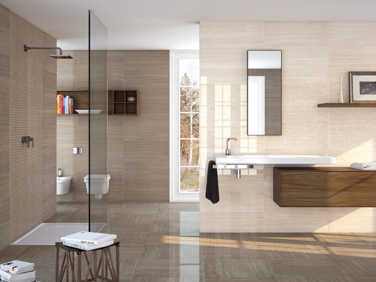Montreal rectified polished porcelain stoneware marazzi montreal marble effect bathroom dailygadgetfo Choice Image