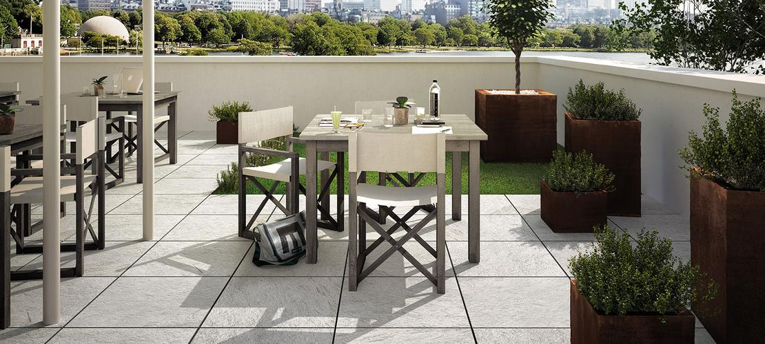 Green porcelain stoneware: ecology and sustainability - Marazzi 5186