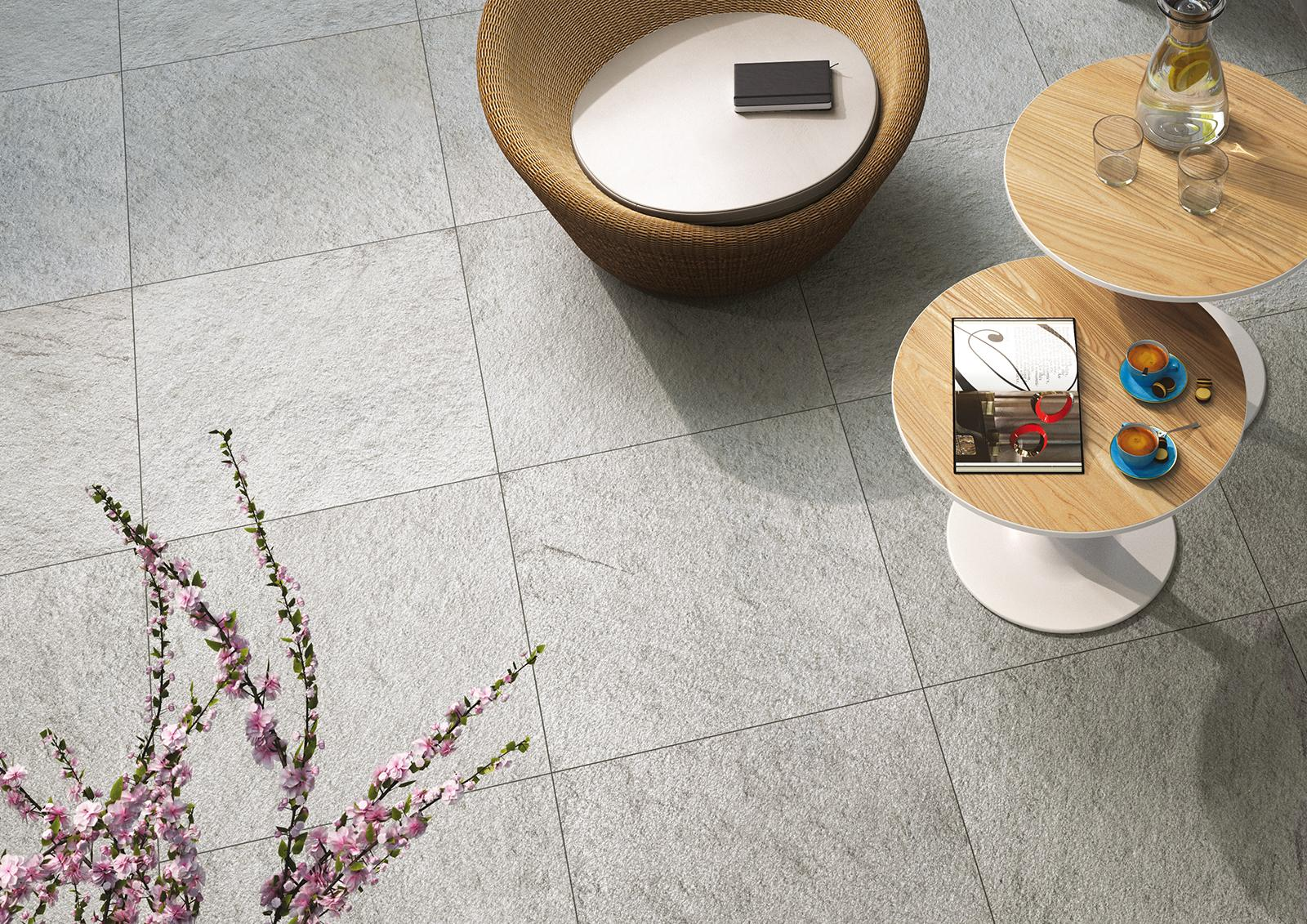 Outdoor tiles gardens and terraces marazzi multiquartz20 stone effect outdoor dailygadgetfo Gallery