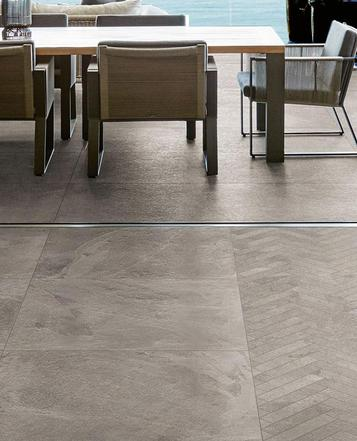 Mystone - Ardesia: Green porcelain stoneware: ecology and sustainability - Marazzi