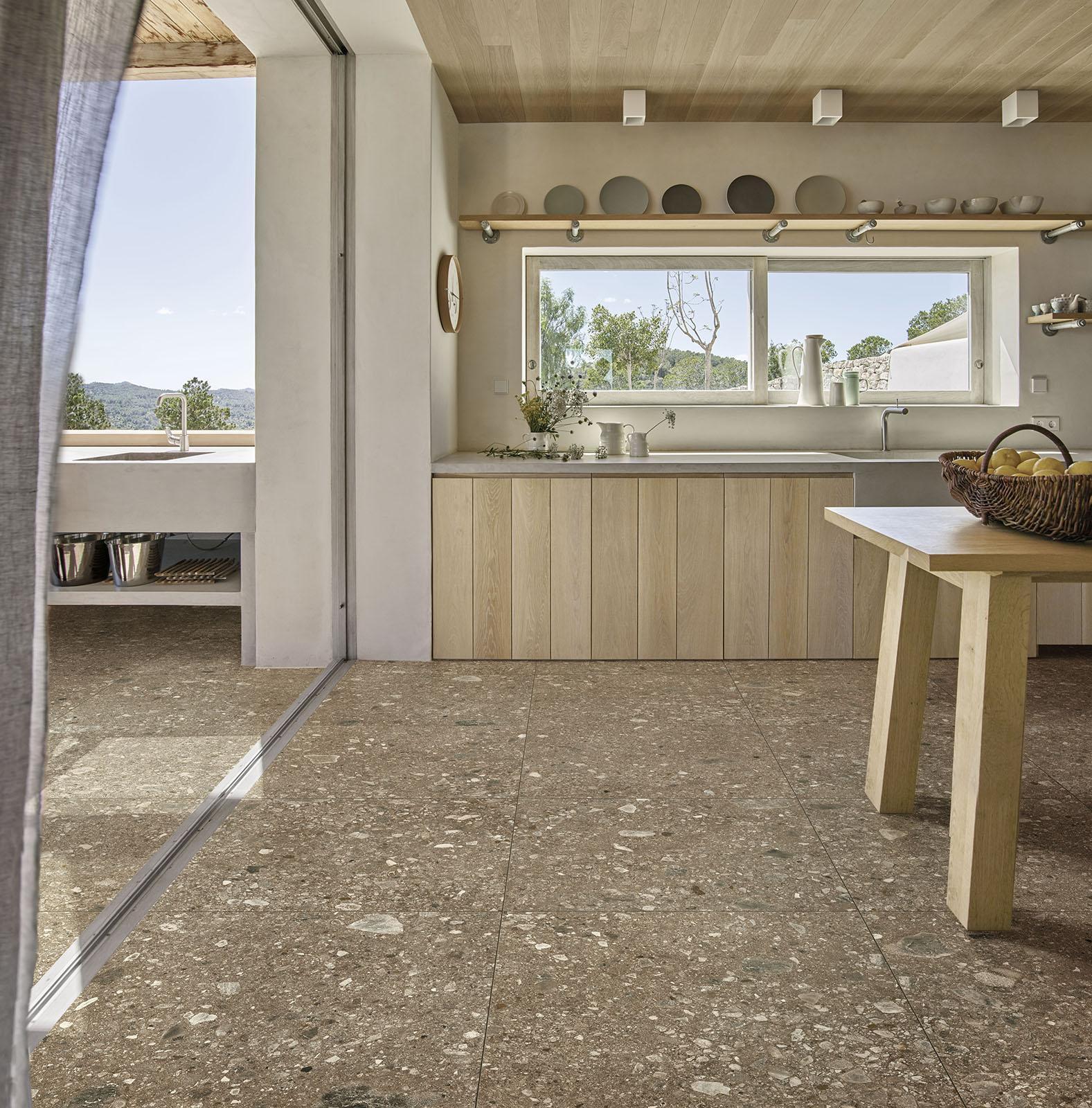 Beige Indoor And Outdoor Tiles