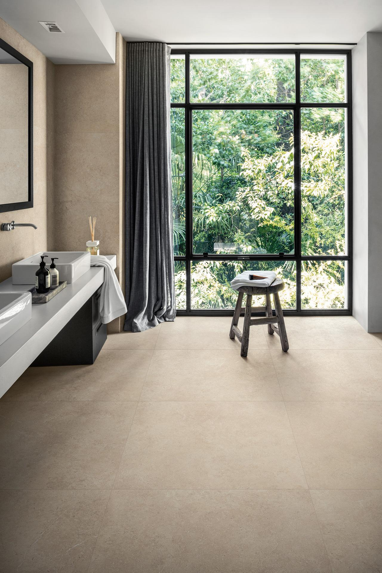 Mystone limestone - Stone Effect - Bathroom