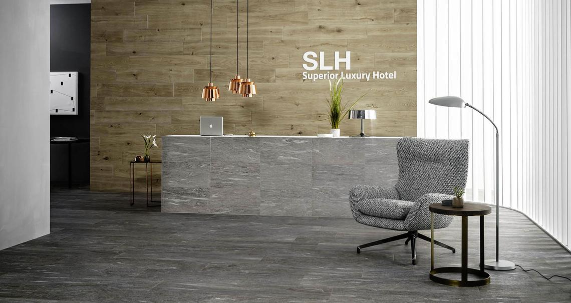 Mystone pietra di vals - Stone Effect - Businesses