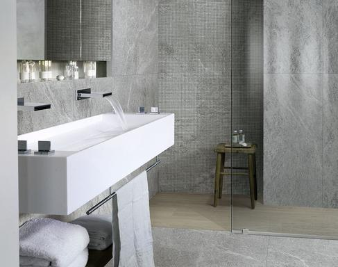 Bathroom Tiles: Ceramic And Porcelain Stoneware   Marazzi 8624