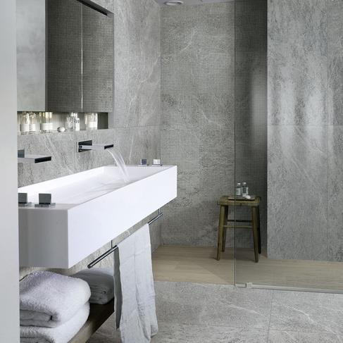 Mystone quarzite - Stone Effect - Bathroom