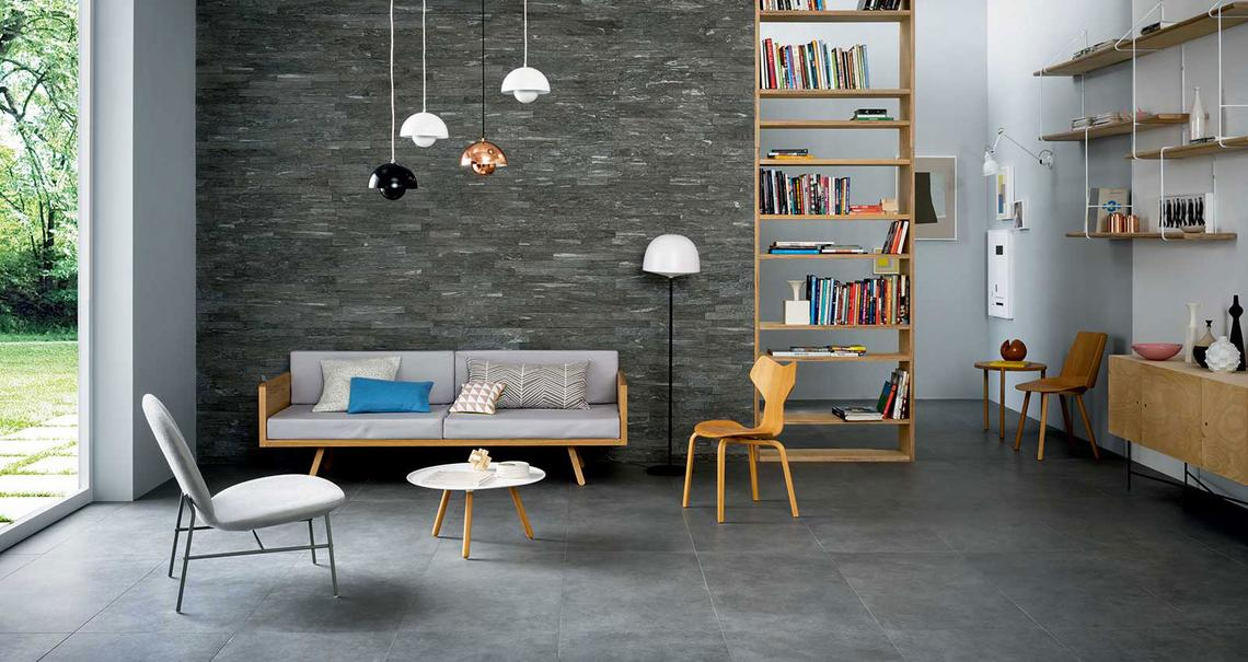 Mystone silverstone - Stone Effect - Living Room