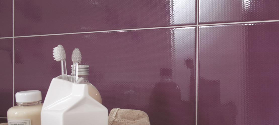 Purple Tiles: view our collections - Marazzi 4503