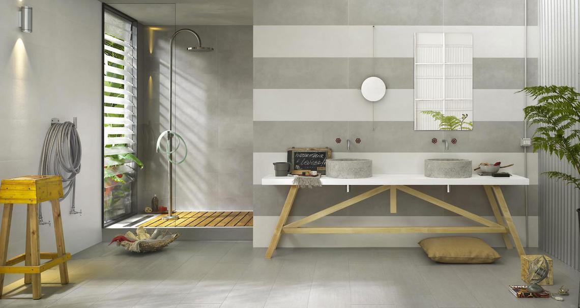 Oficina7 - Concrete Effect - Bathroom