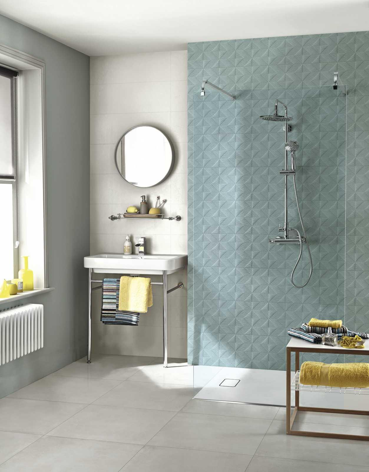 Outfit: Fabric-Effect Wall Tiles   Marazzi