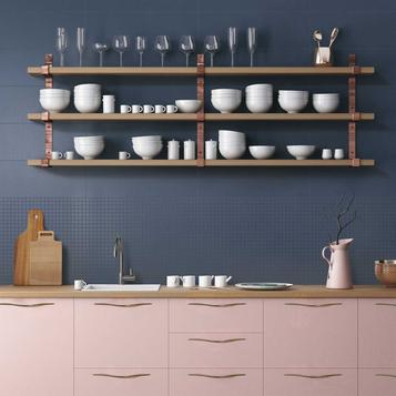 Blue Kitchen Tiles Marazzi